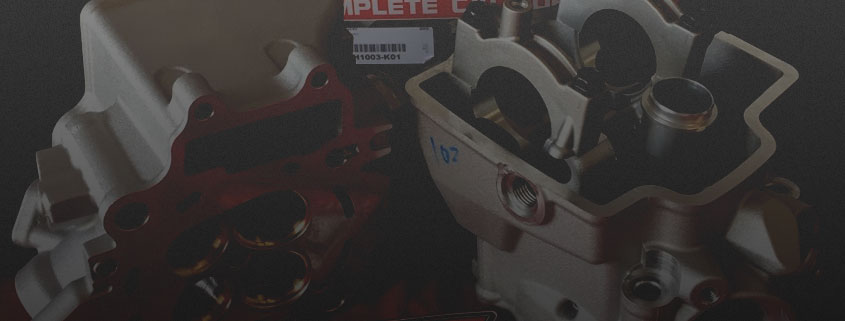 Fastheads - dirt bike cylinder head service